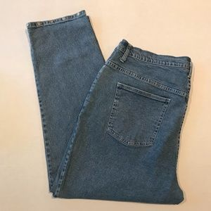 ➕ Quacker Factory Embellished Ankle Jeans 22W